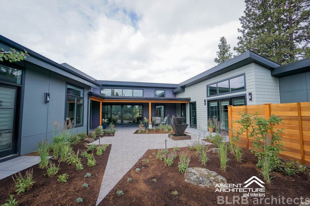 Tetherow Custom Home Bend OR  Ascent Architecture  Interiors - Senior home design