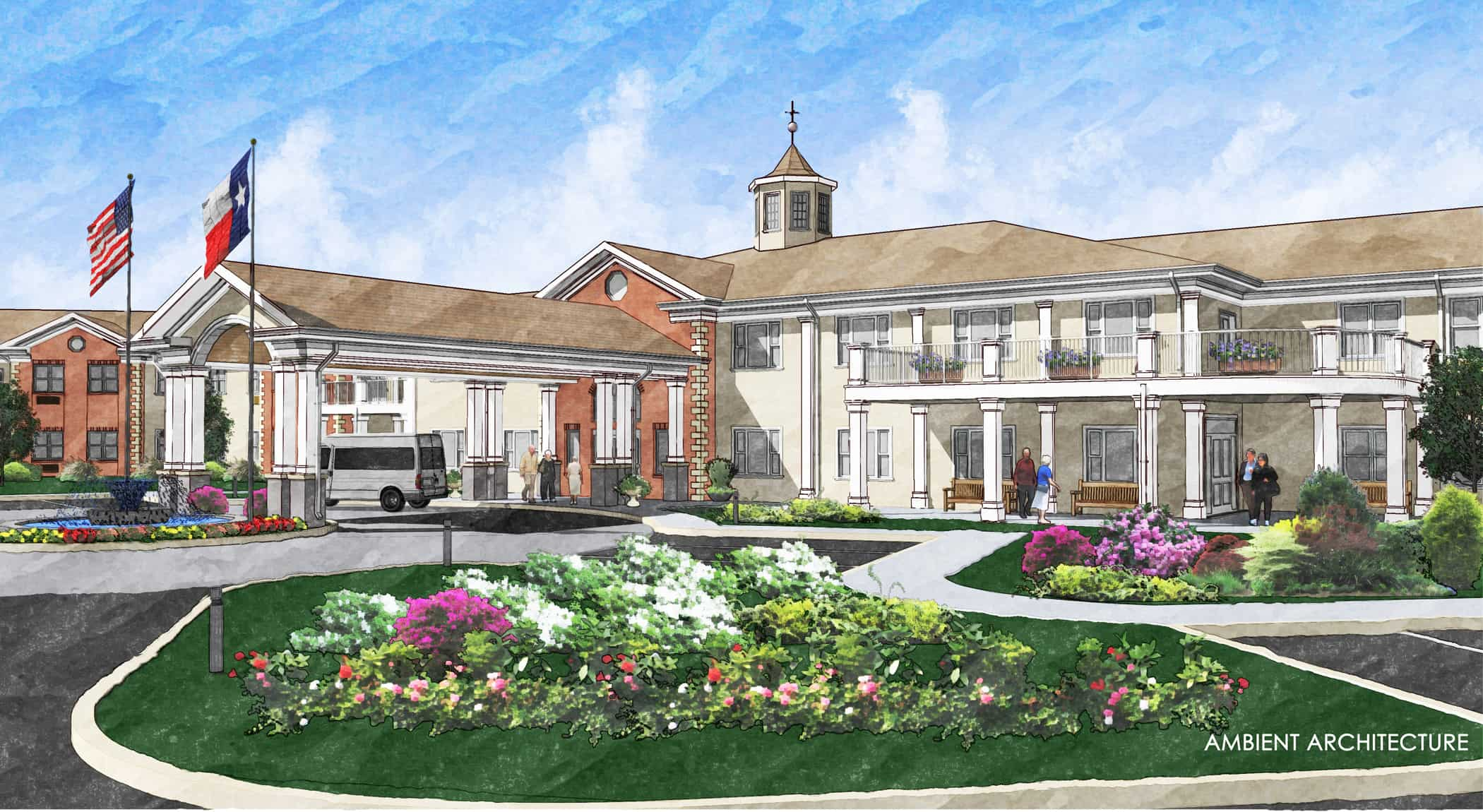 Gardens at brook ridge alf ascent architecture for Seniors house