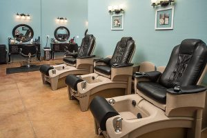 Casual Elegance pedicure stations