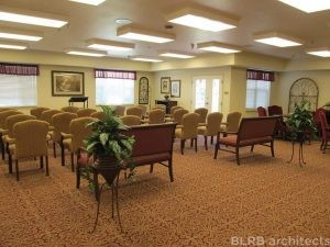 Assisted living chapel design