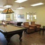 Assisted living recreation room design