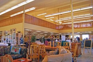 Interior remodel of the Humane Society of Central Oregon Thrift Store