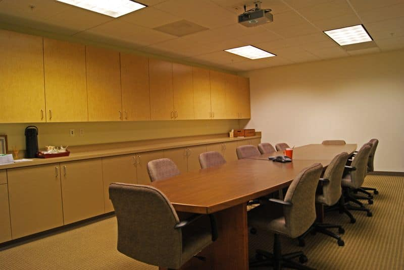 Conference Room Ascent Architecture Interiors Bend