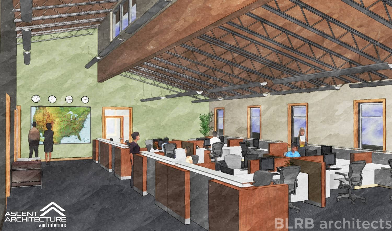 Commercial Office Building Ascent Architecture
