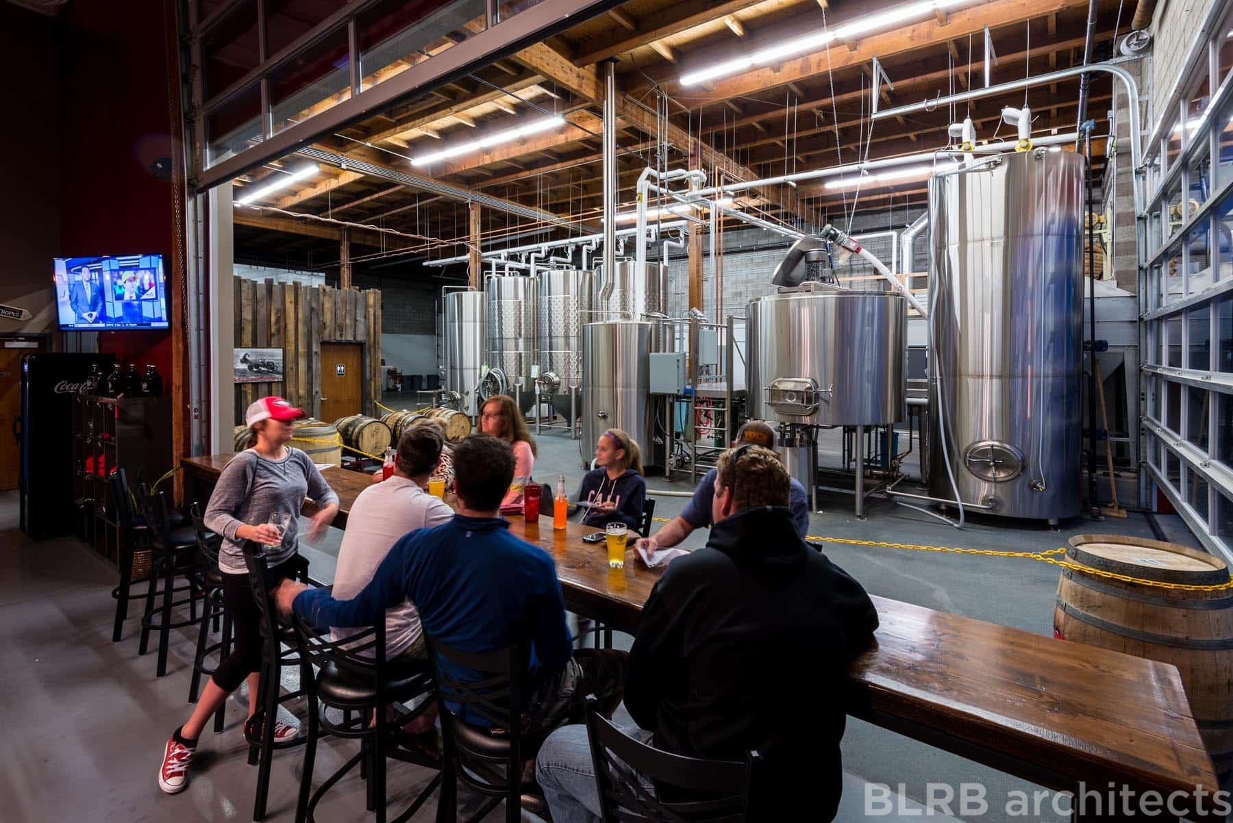 Wild Ride Brewing Company Ascent Architecture
