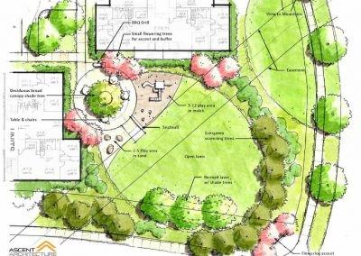 104 Unit Housing Complex Site Plan