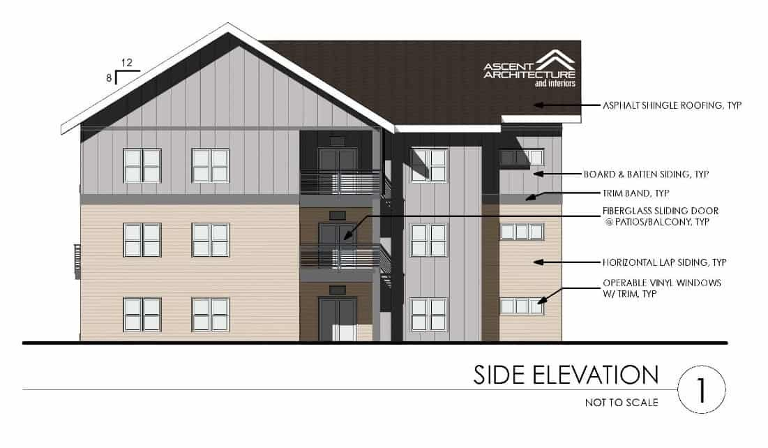 104 unit multifamily housing project ascent architecture for Residential lease for apartment or unit in multi family