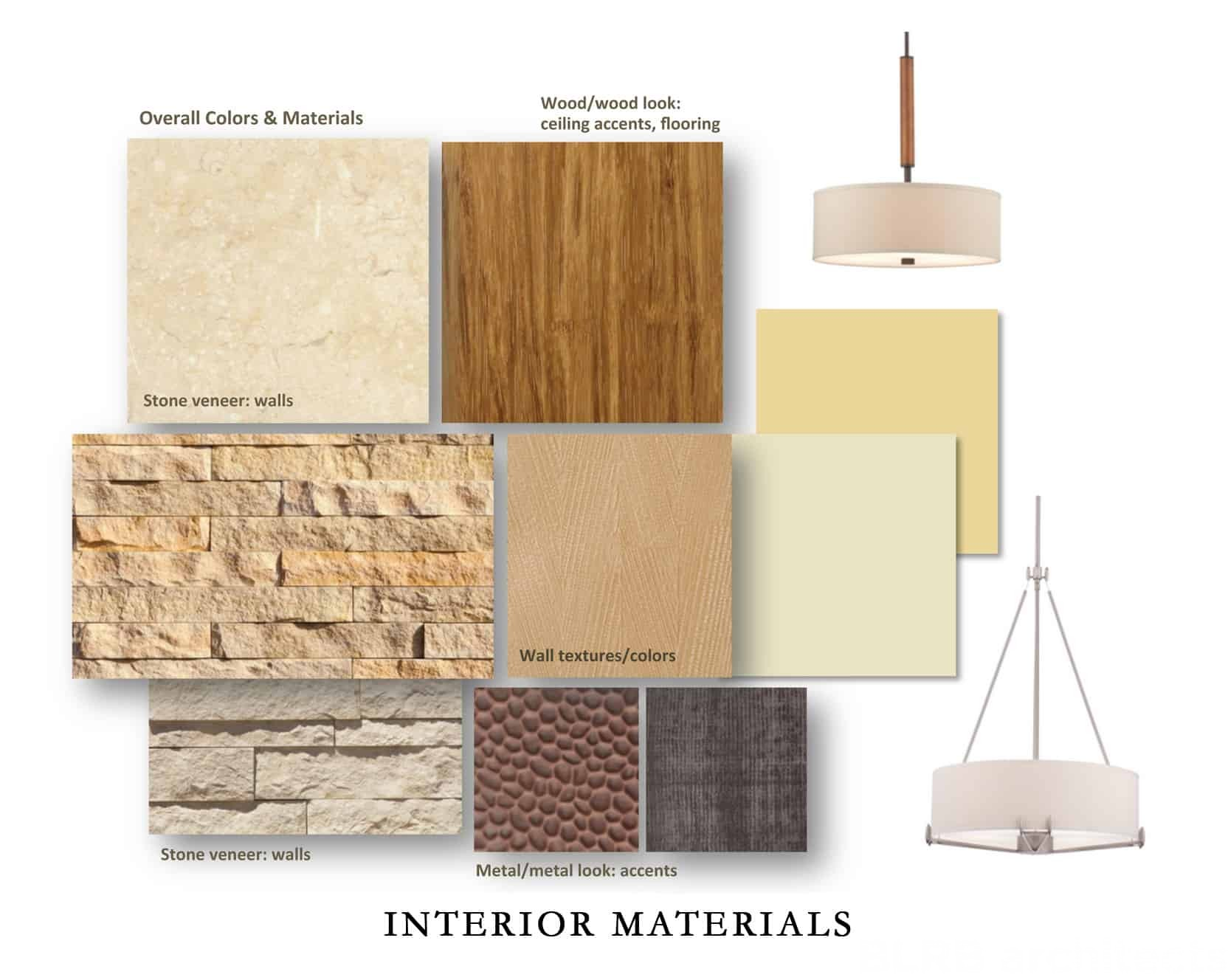 Interior design material for Interior decoration with waste material
