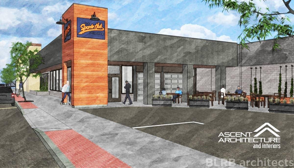 The Sports Hub Restaurant Ascent Architecture