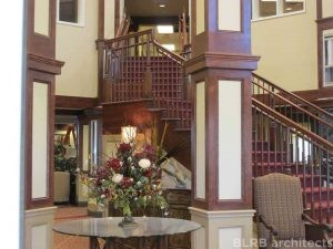 Senior Living Open Staircase