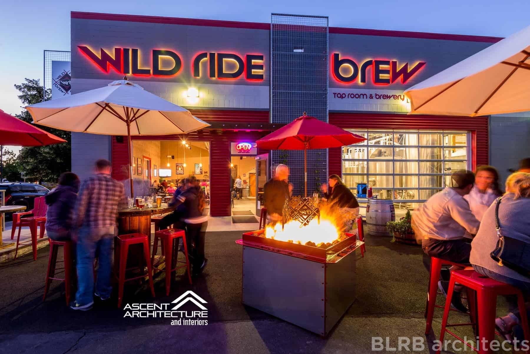 Wild Ride Brew Ascent Architecture Interiors Bend