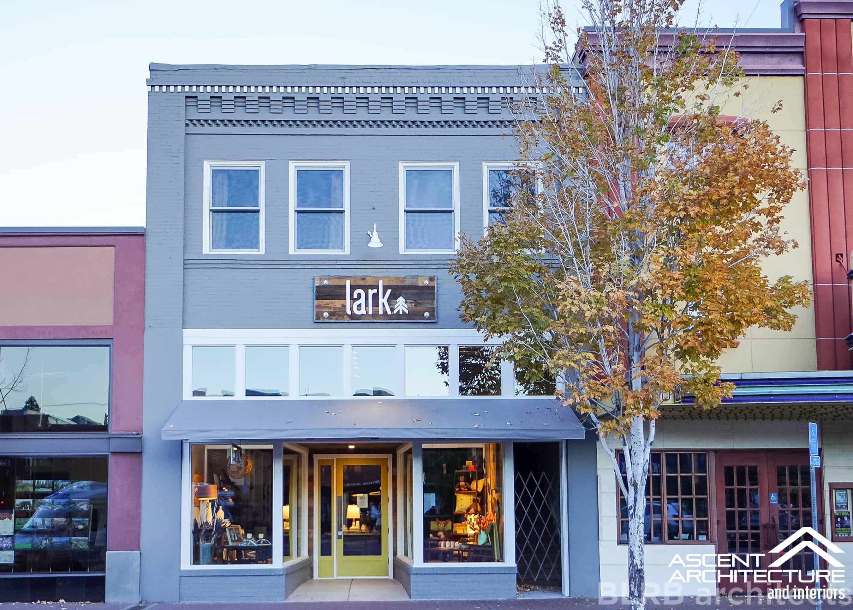 EM Thompson Retail Building Remodel  Ascent Architecture - Senior home design