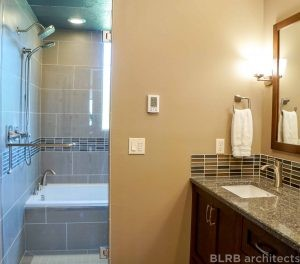 Residential bathroom remodel