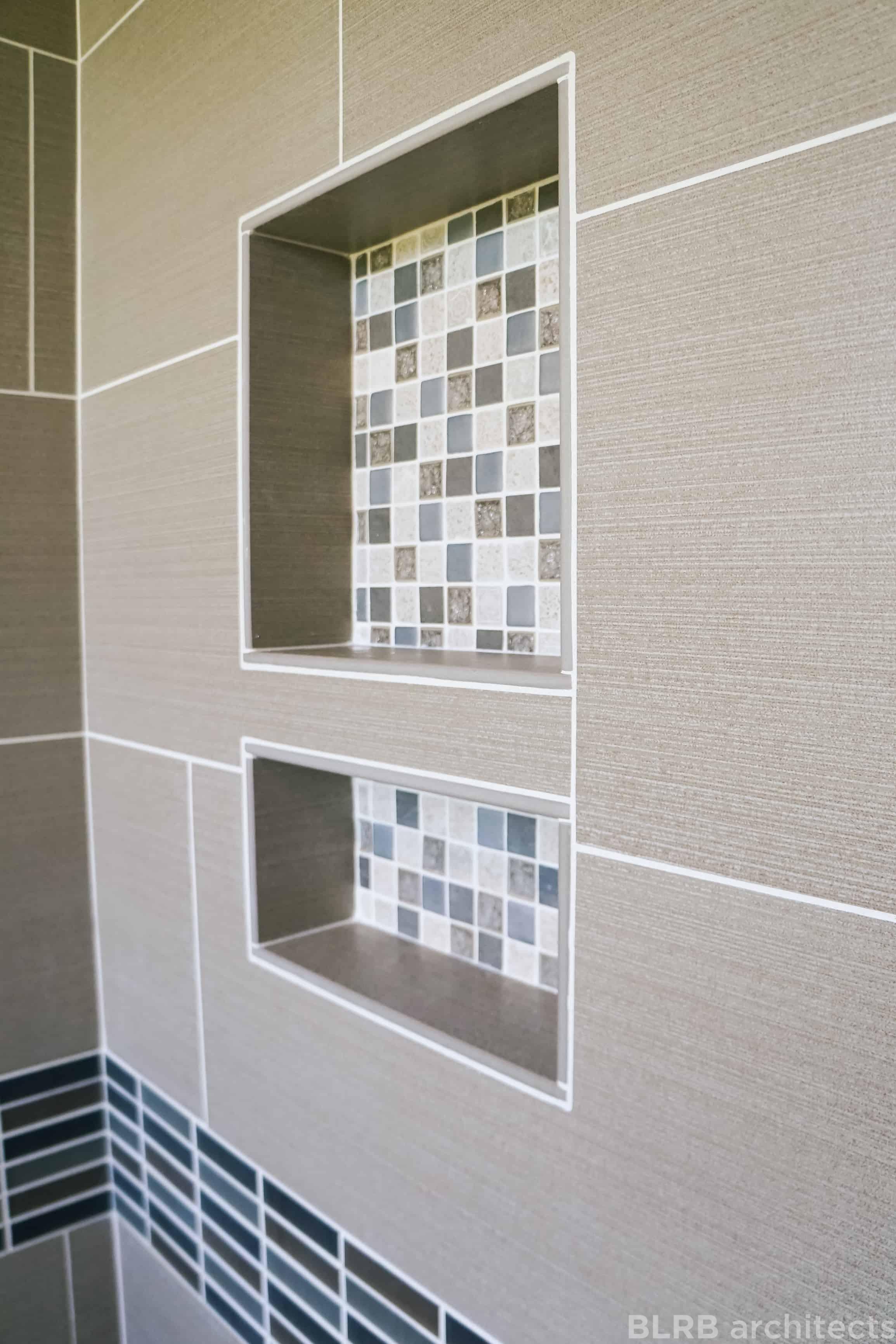 Inset Shower Shelf > Ascent Architecture & Interiors, Bend ...