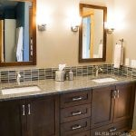 View of the bathroom vanity in a residential remodel