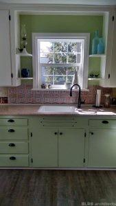 Studio apartment kitchen interior design