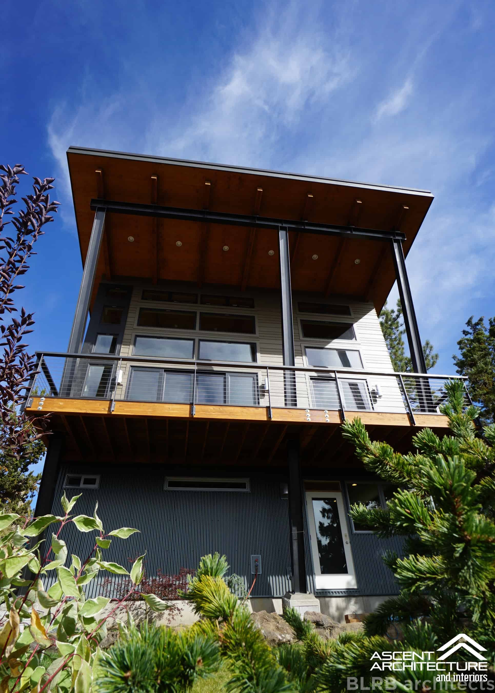 Mendell custom home bend oregon ascent architecture for Custom home architects