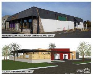 Redmond Commercial Kitchen Remodel Ascent Architecture