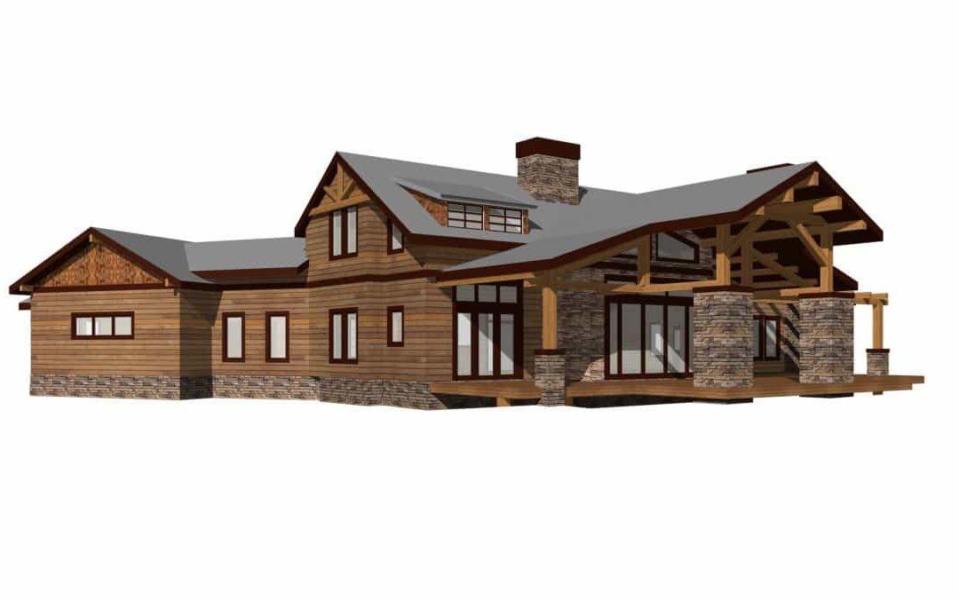Contemporary Ranch House