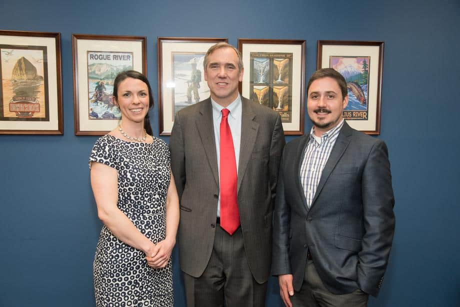 Anderson Attends AIA Grassroots, Meets With Sen. Merkley