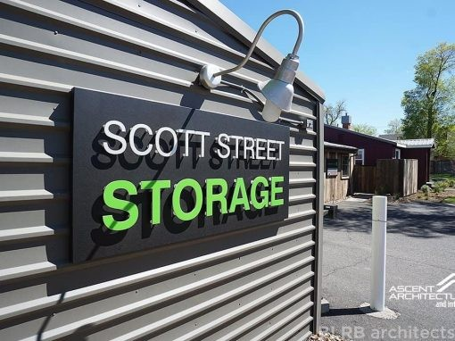 Scott Street Storage Façade Redesign