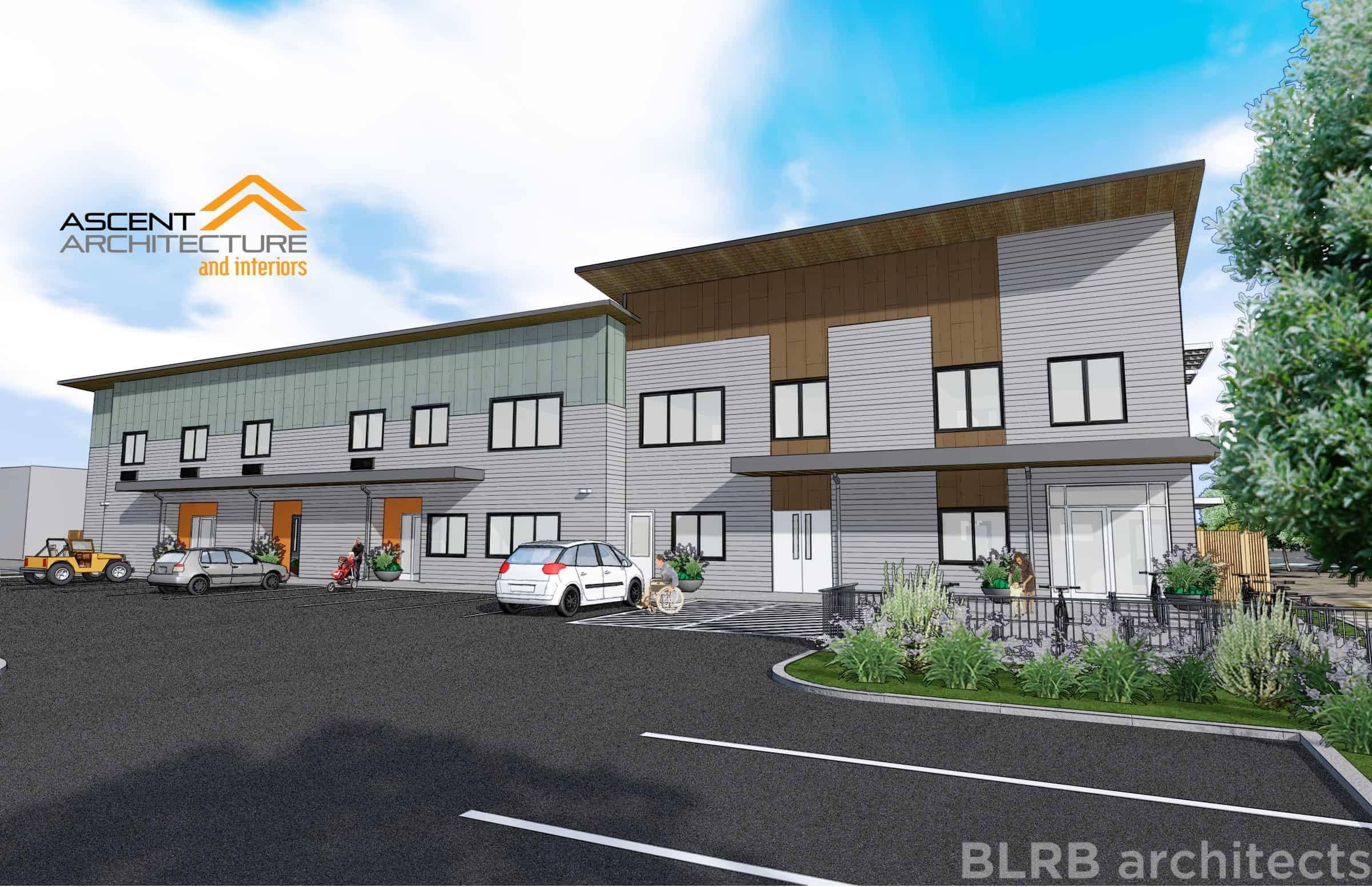 bethlehem inn homeless shelter ascent architecture. Black Bedroom Furniture Sets. Home Design Ideas