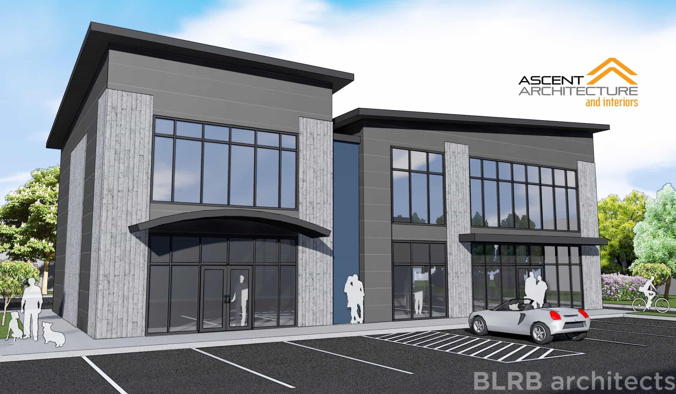 Redmond Retail Building Ascent Architecture Interiors