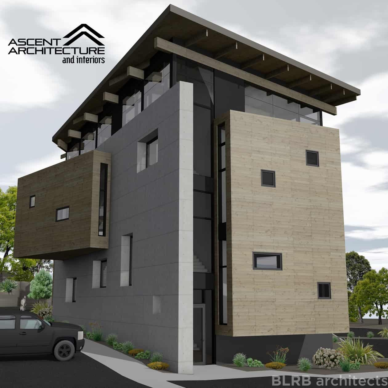 Bend Oregon Apartments: Old Mill Office Concept » Ascent Architecture & Interiors