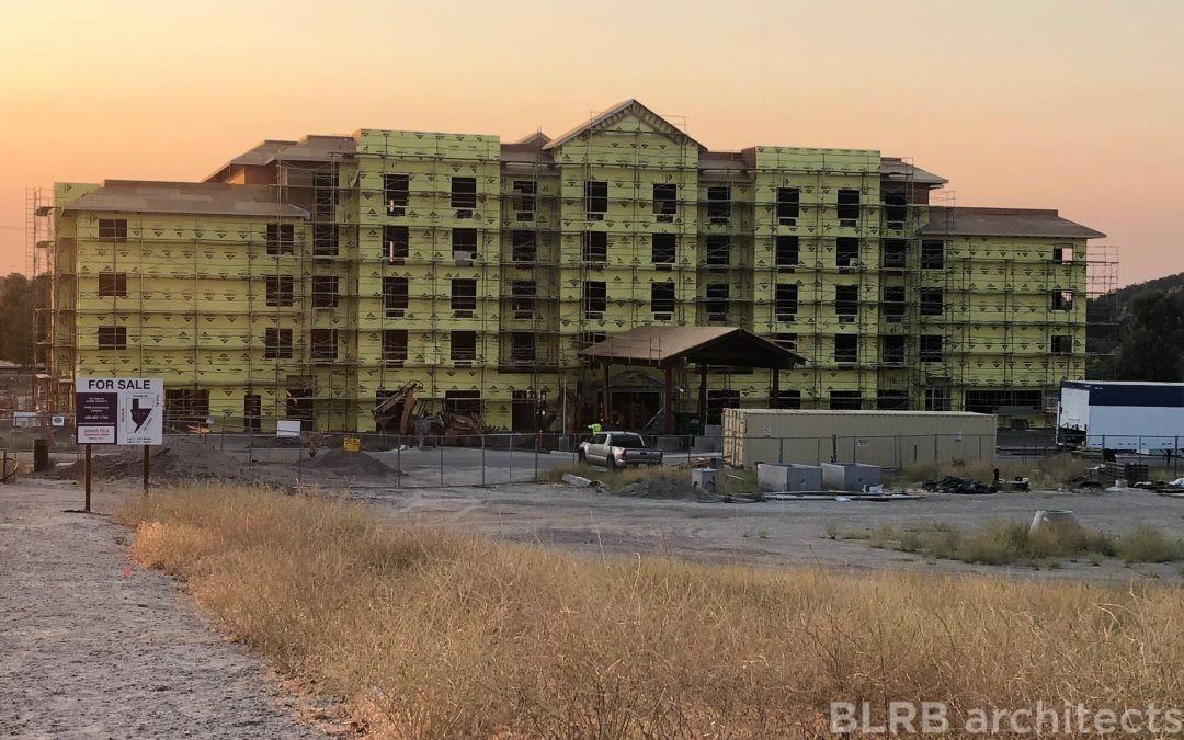Construction Progress in Paso Robles!