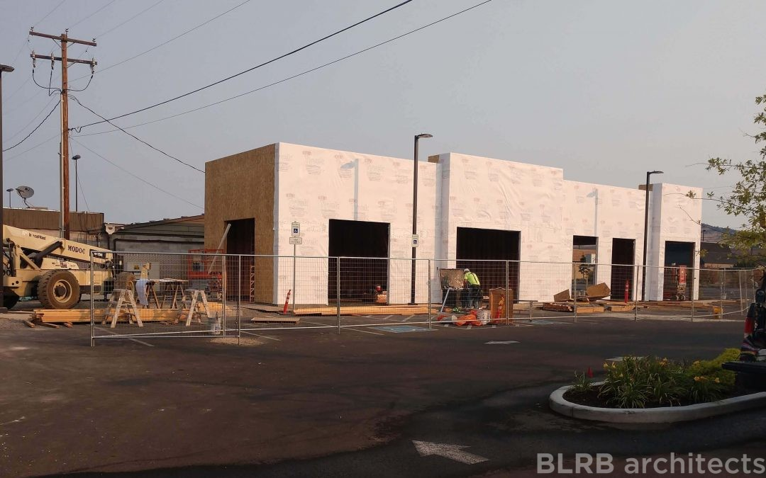 Progress in Klamath Falls!