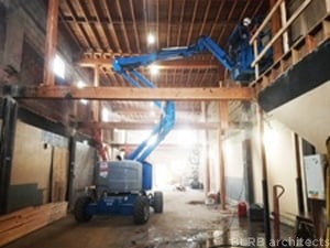Construction Progress on 6th Street Apartments Remodel!